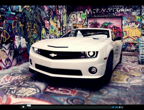 """Pearl White Camaro Wrap"" Web Series Video"