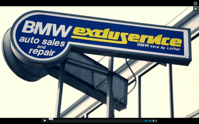 Testimonial video for BMW Excluservice