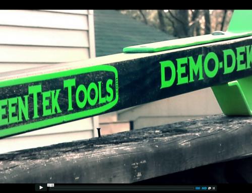 "Product Demonstration for the ""Demo-Dek"""