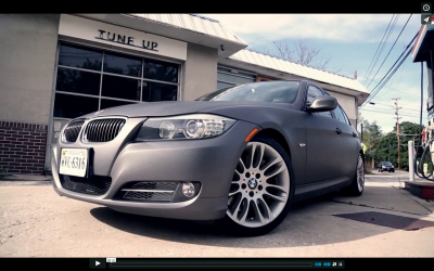 bmw matte wrap web series video