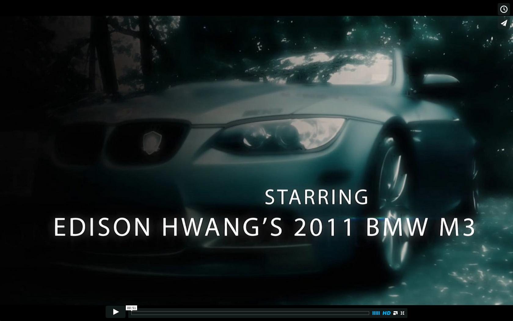 BMW Web series video