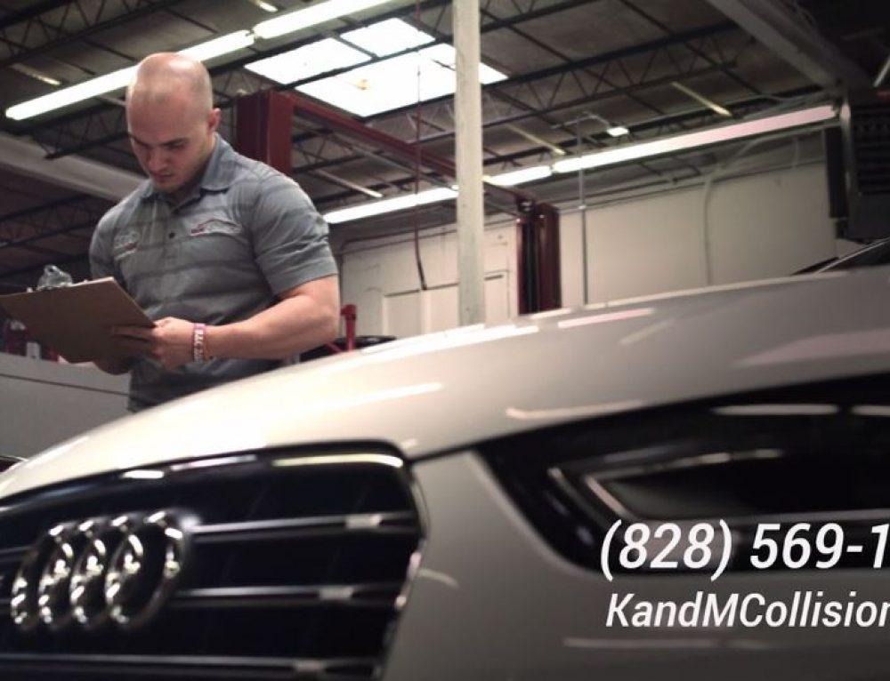 Collision Repair Education Foundation Video For KM Collision - Audi certified collision repair
