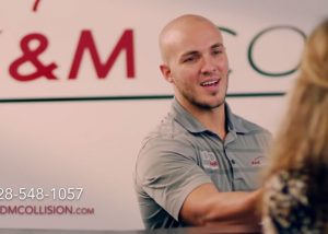 k&m collision tv commercial