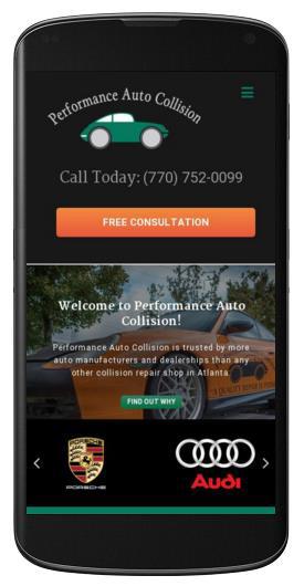 Body-Shop-Website-Design-Performance-Auto-Collision-Mobile