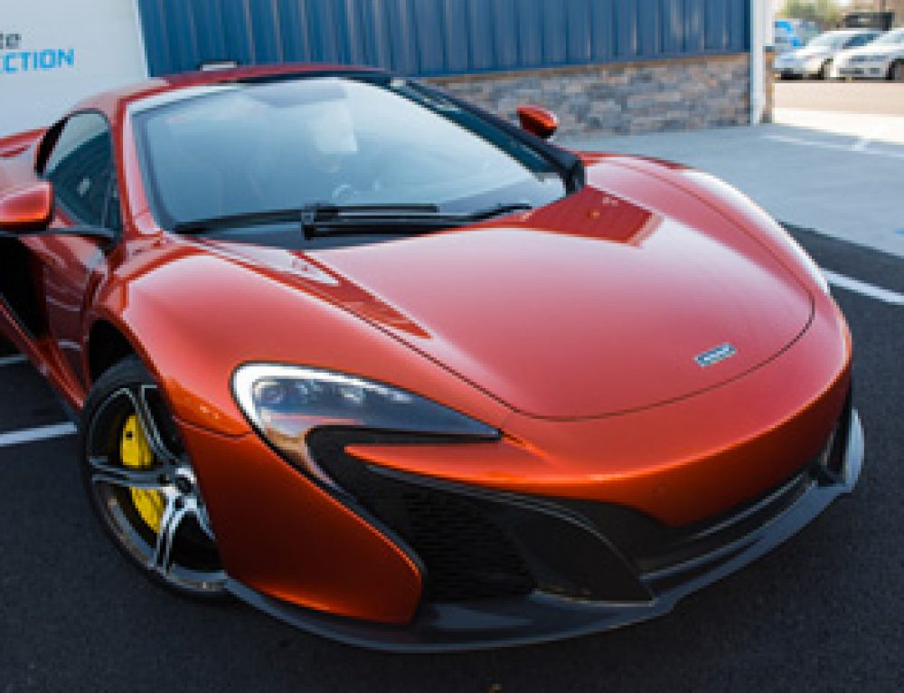 McLaren Paint Protection Film for AP Tinting