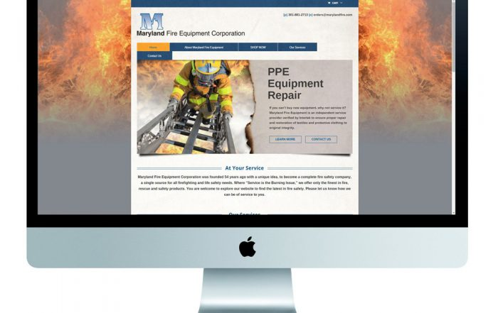 eCommerce-Website-Redesign-Maryland-Fire-Responsive